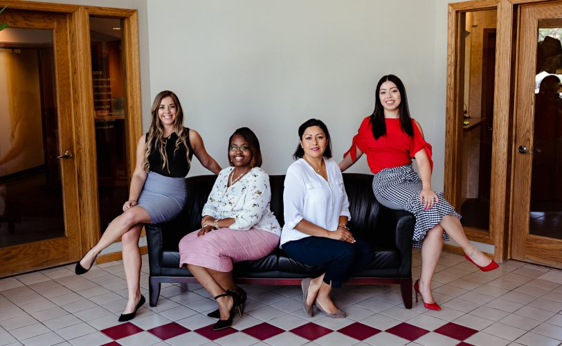 front desk team at Arbor Family Counseling